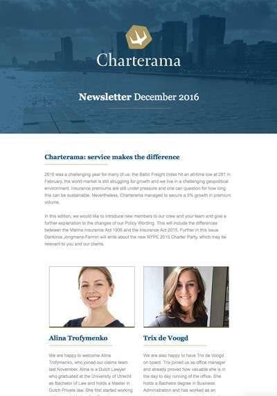 Newsletter - Charterama