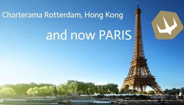 Charterama opening in Paris