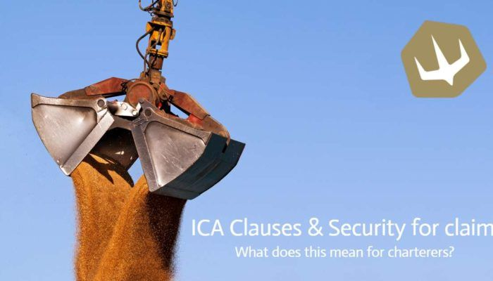 Sand falling from a loading machine | ICA Clauses